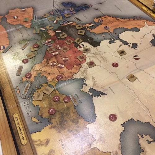 そしてゲーム終了時。いない国もちらほら